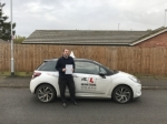 Geoff Redpath passed with Mr L Driving School