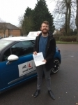 Jake Huggins passed with Mr L Driving School