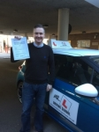 paul Baker passed with Mr L Driving School