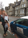 Jessica Savory passed with Mr L Driving School