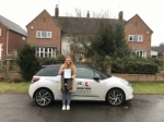 Jessica Ellerton passed with Mr L Driving School