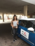 Alysha Pancholi passed with Mr L Driving School