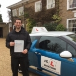 Andy Dean passed with Mr L Driving School