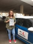 Paige Latimer passed with Mr L Driving School