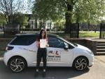 Aminna Harb passed with Mr L Driving School
