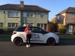 Immy Harris passed with Mr L Driving School