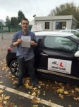 Jarrad Rippin passed with Mr L Driving School