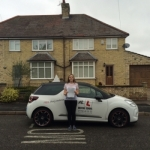 Mia Adam passed with Mr L Driving School