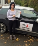 Pamela Jablonska passed with Mr L Driving School