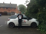 Sam Boselely passed with Mr L Driving School