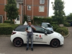 Zac Iskander passed with Mr L Driving School