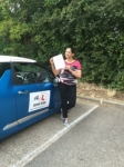 Jini Thomas passed with Mr L Driving School