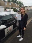Laura Woods passed with Mr L Driving School