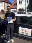 Lewis Marshall passed with Mr L Driving School