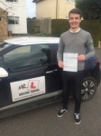 Jake Alsop passed with Mr L Driving School