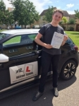 Alex Hedgecoe passed with Mr L Driving School