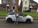 Jade Whippy passed with Mr L Driving School