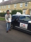 Rayhan Gani passed with Mr L Driving School