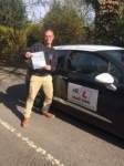 Simon Tyler passed with Mr L Driving School