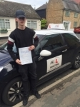 Jack Bevis passed with Mr L Driving School