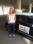 Lauren Overy passed with Mr L Driving School