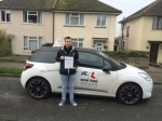 Stephen Tucker passed with Mr L Driving School