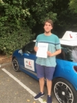 Tim Weaving passed with Mr L Driving School
