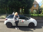 Elsa Rees passed with Mr L Driving School