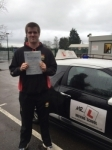 Alan Gregory passed with Mr L Driving School