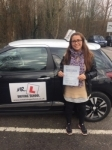 Estefania Lopez passed with Mr L Driving School