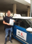 Christopher King passed with Mr L Driving School