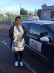 Preethi Suresh passed with Mr L Driving School