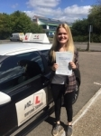 Aaliyah Plattern passed with Mr L Driving School