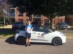 Jordan Blyth passed with Mr L Driving School