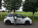 Charlotte Starks passed with Mr L Driving School