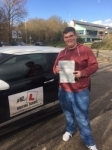 Sam Gooby passed with Mr L Driving School