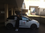 Rhiyana Thompson passed with Mr L Driving School