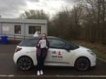 Danielle Wilson passed with Mr L Driving School
