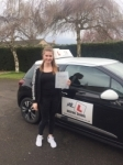 Erin Dolan passed with Mr L Driving School