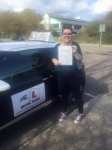 Mia Turner passed with Mr L Driving School