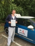 Jared Porter passed with Mr L Driving School