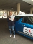 Summer Monroe passed with Mr L Driving School