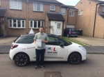 Thomas Barton passed with Mr L Driving School