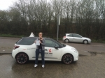 Emily Boswijk passed with Mr L Driving School