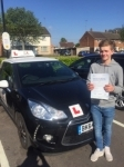 Hayden Doy passed with Mr L Driving School