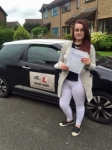 Natalya Jenja passed with Mr L Driving School