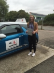 Rosie Hazelwood passed with Mr L Driving School