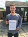 Dan Webb passed with Mr L Driving School