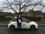Jamie Cranwell passed with Mr L Driving School