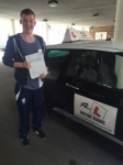 Ash Clark passed with Mr L Driving School